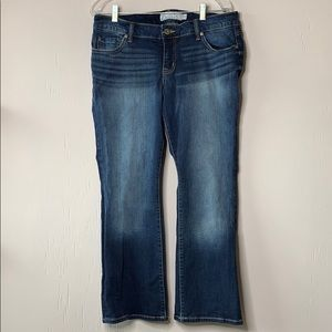 Torrid Bootcut Jeans Medium Wash Blue Extra Short